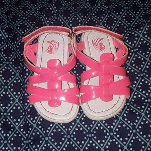 Children's Place pink sandals